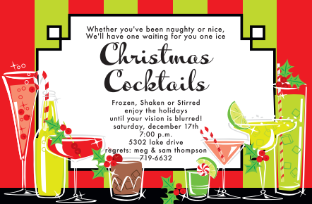 christmas Company party invitations